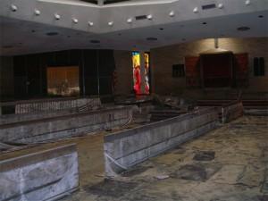 Devastation inside Beth Israel