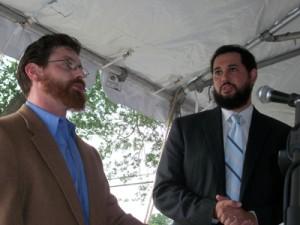 Beth Israel Rabbis David Posternock and Uri Topolosky