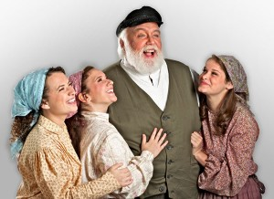 "Randy Cheramie, who has played Tevye more than any other local actor, is seen here in a 2015 production of ""Fiddler on the Roof"" at Summer Lyric Theatre at Tulane. (Photo by Michael Palumbo Photography)"