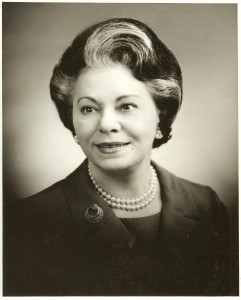 Bessie Margolin's official Department of Labor photo. (Photo courtesy Marlene Trestman)