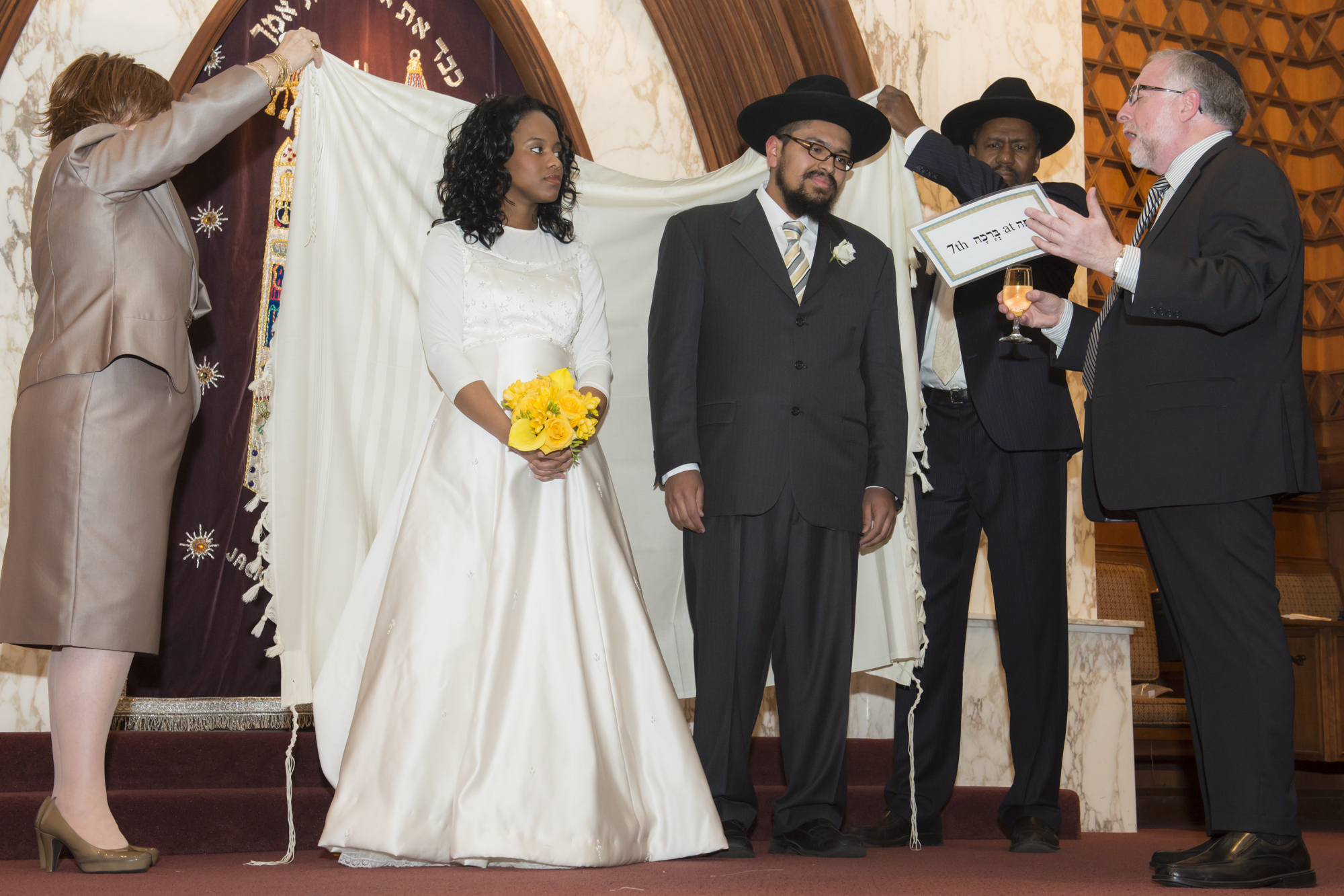 Rabbi Simon Benzaquen Recites The Sheva Brachot