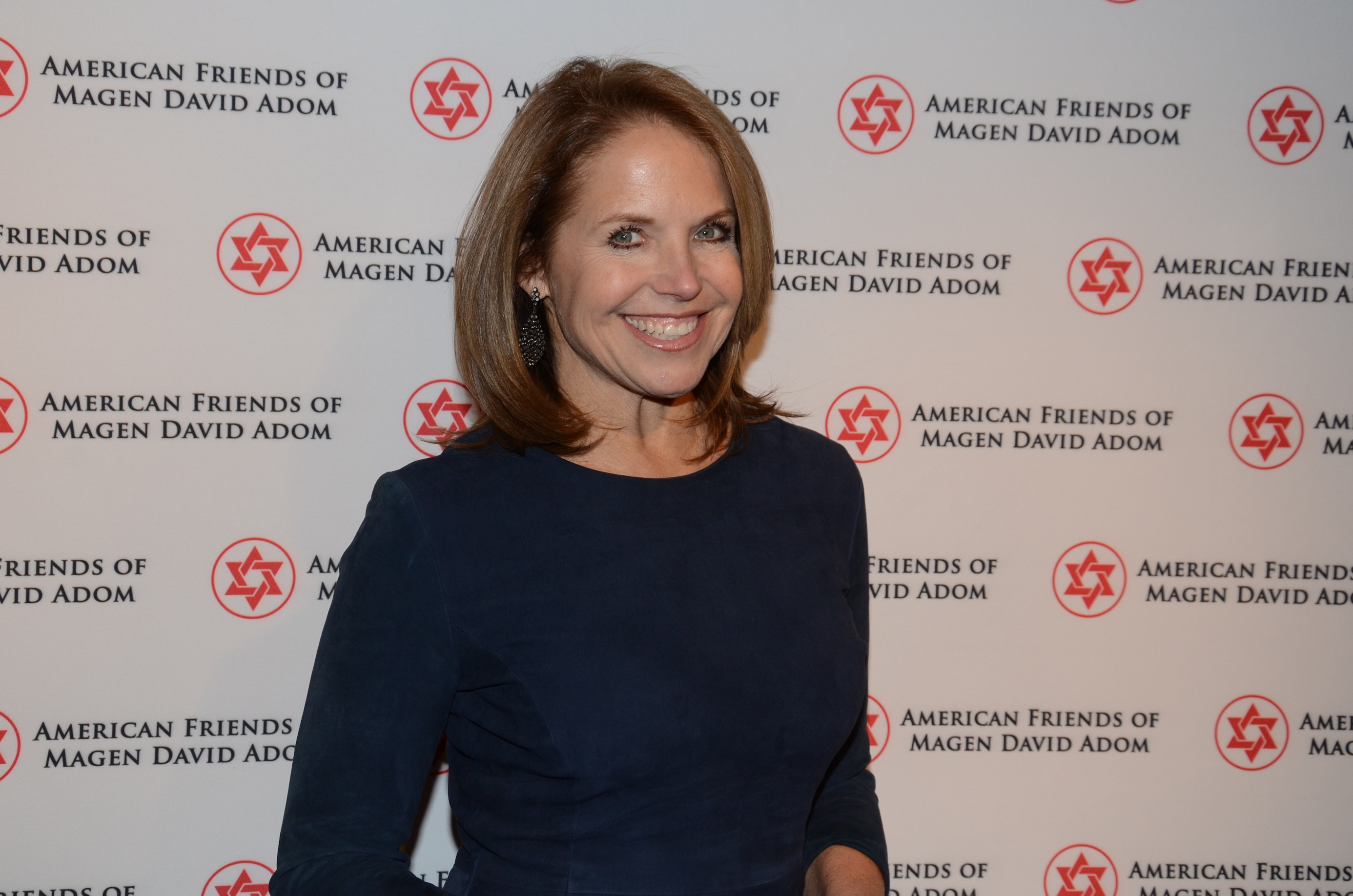 Katie Couric hosts for AFMDA, animating Anne Frank, King ...  Katie Couric ho...
