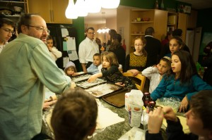 gil marks hanukkah donut demo