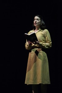 Sara Farb as Anne Frank in The Diary of Anne Frank. Photography by David Hou.