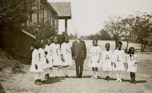 Rosenwald students