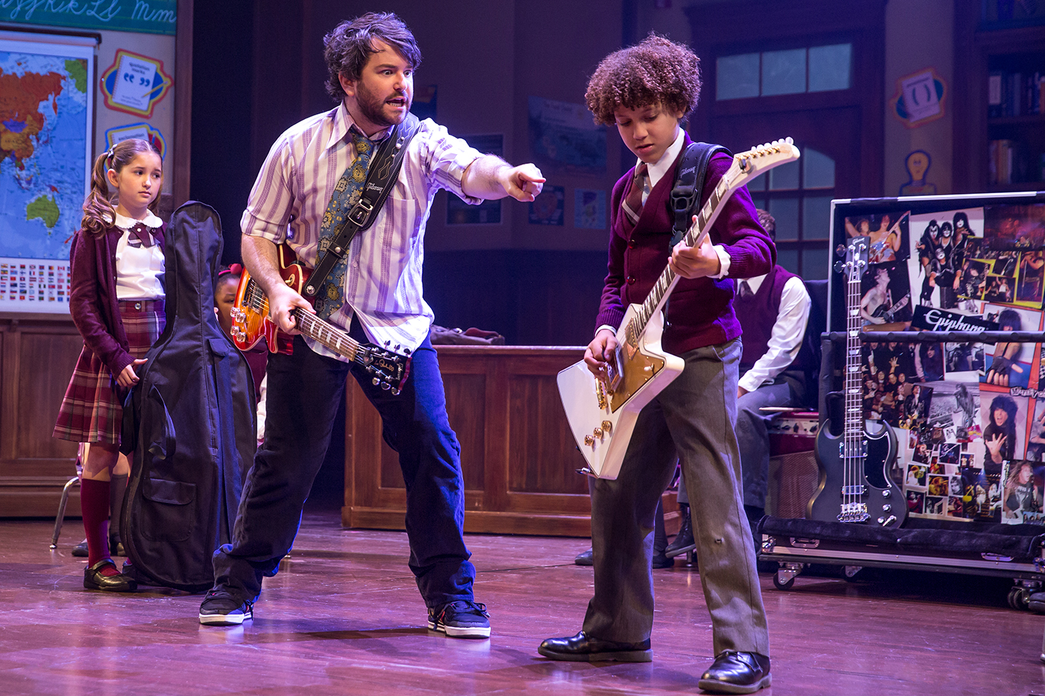 'School of Rock' signals return of Lloyd Webber to rock ... Steppin Out
