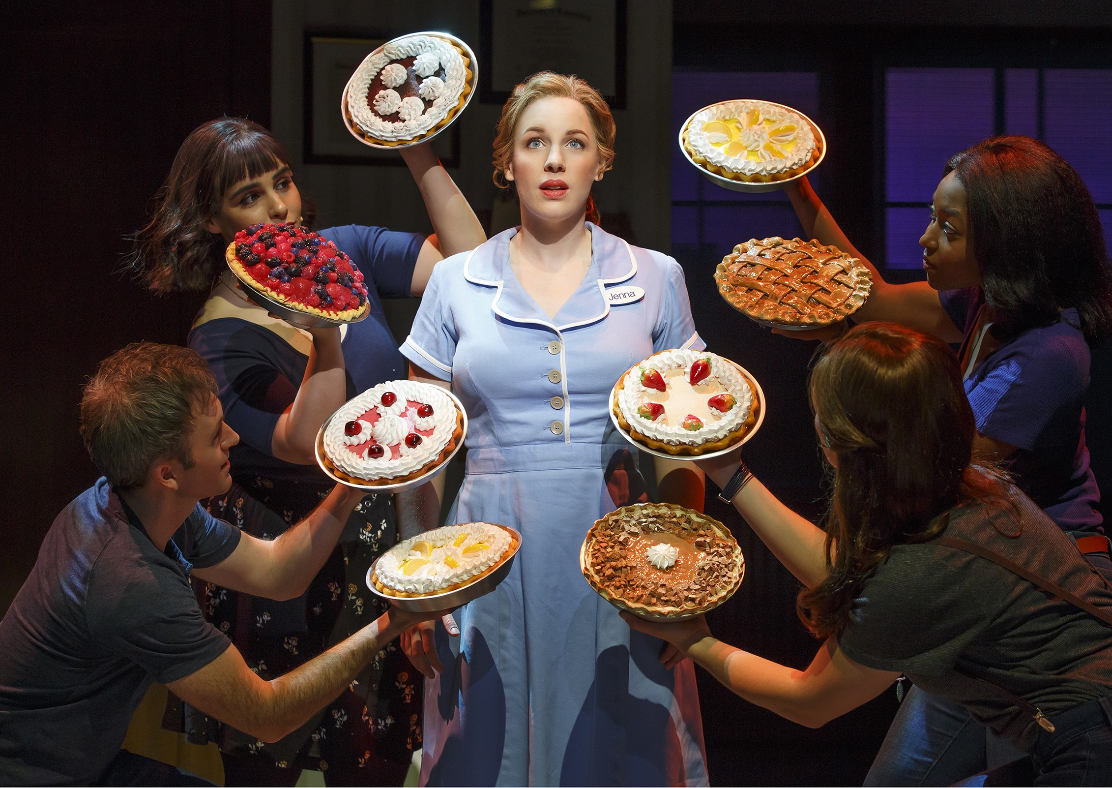 Quirky 'Waitress' defies odds on Broadway