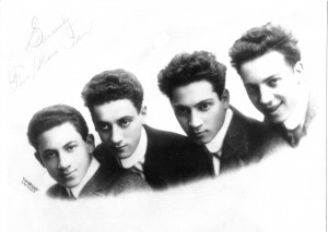 Four Marx Bros -1912
