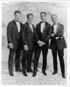 Four Marx Bros 1923