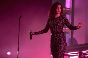 Lorde performing at the Glastonbury Festival in Glastonbury, England, June 23, 2017. (Ian Gavan/Getty Images)